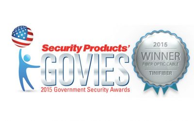 TiniFiber® Wins 2015 Platinum Level Govies Award ISC West Security Show