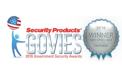 TiniFiber® Wins 2016 Fiber Optic Govies Award!