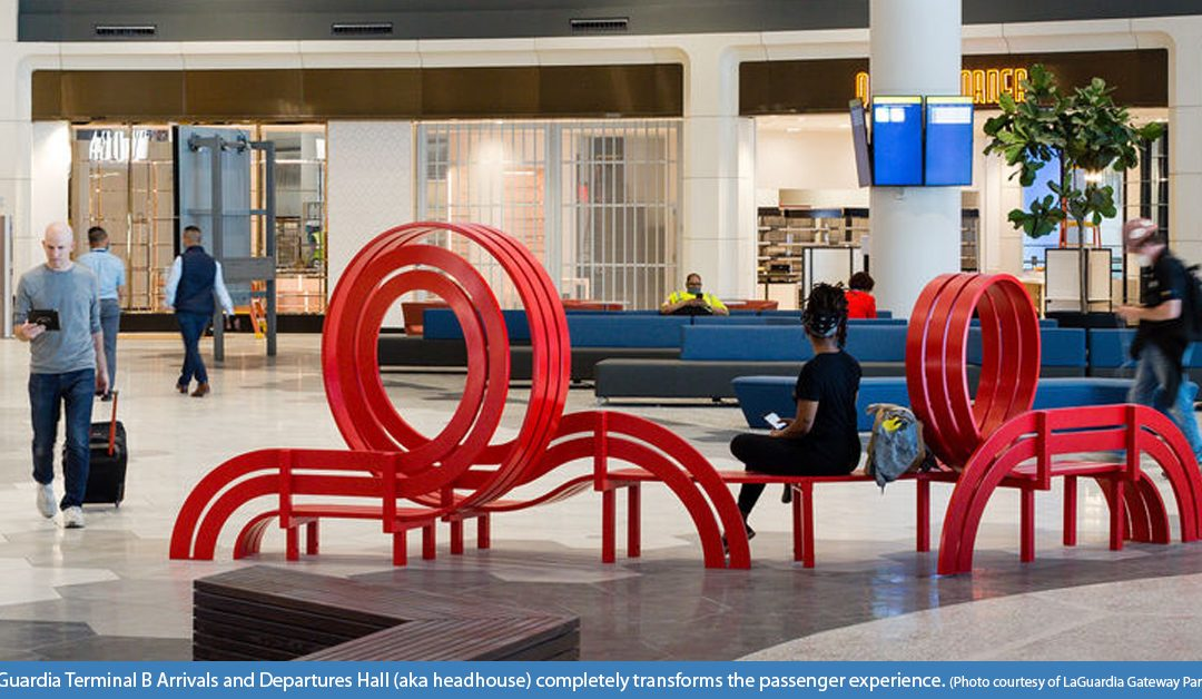 TiniFiber® Used in LaGuardia Airport's New Terminal B Headhouse DAS/Wireless Application